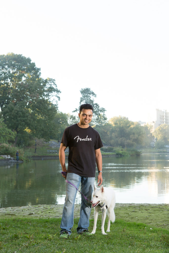 Volunteer Dog Walking with PAWS NY