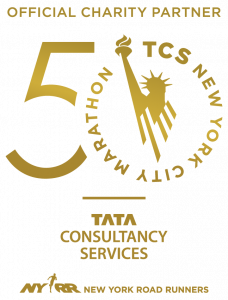 TCS NYC Marathon 50th Anniversary Logo