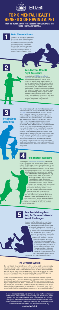 Mental Health Benefits to Owning a Pet