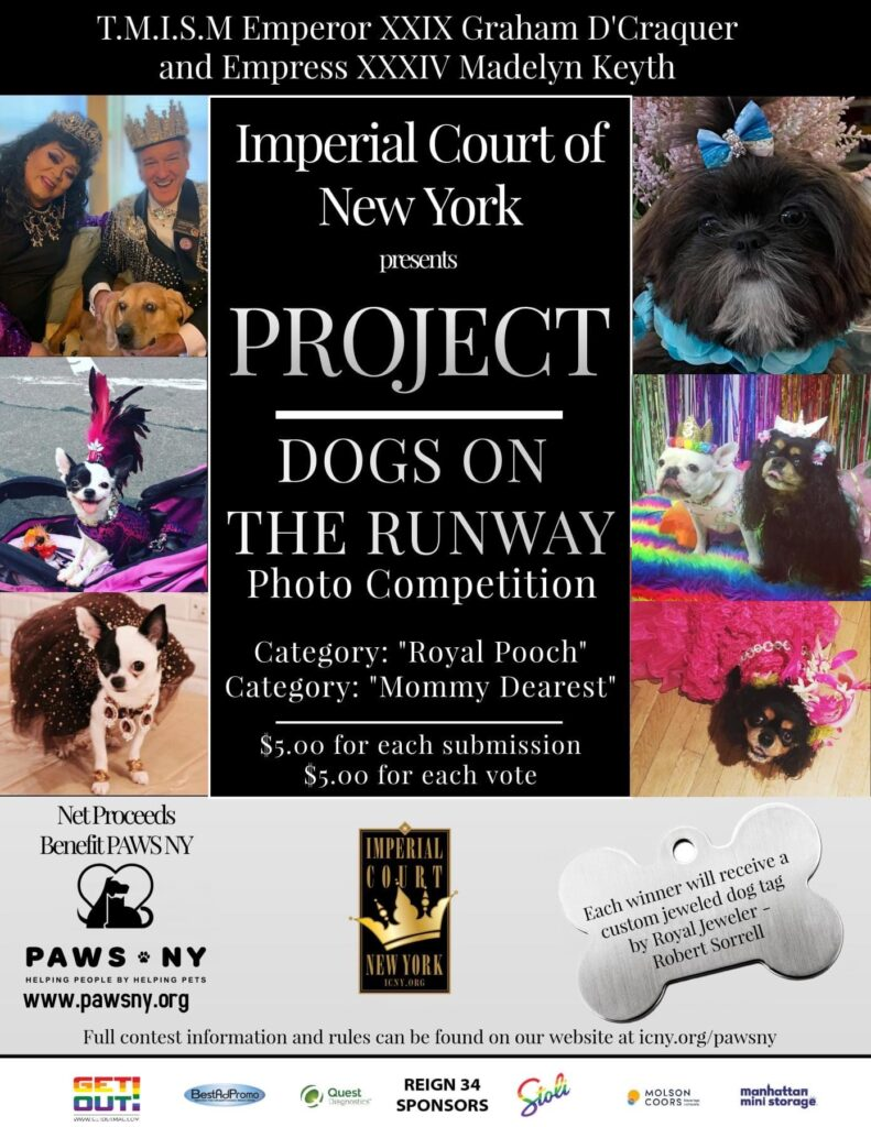 Imperial Court of NY Dogs on the Runway
