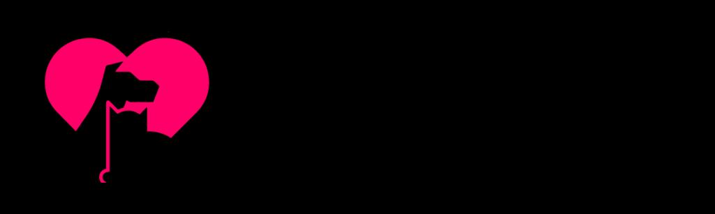 PAWS NY Logo Black & Pink Horizontal